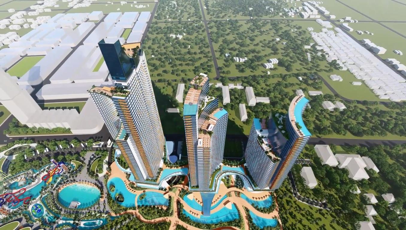 Tổ hợp Sunbay Park Phan Rang Ninh Thuận với nhiều tiện ích đẳng cấp quy mô quốc tế