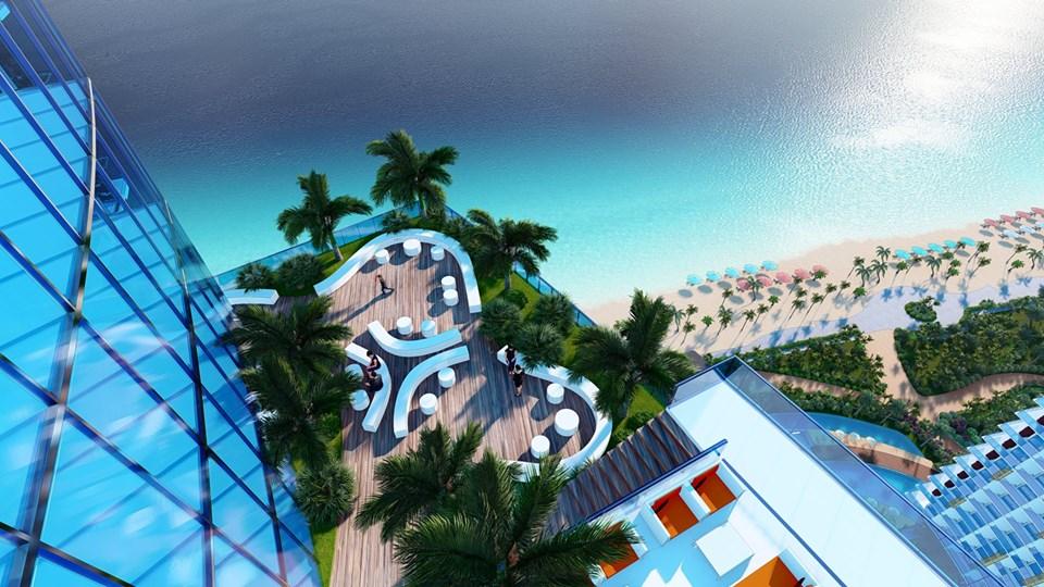 Skybar sang trọng tại dự án Sunbay Park Phan Rang Ninh Thuận