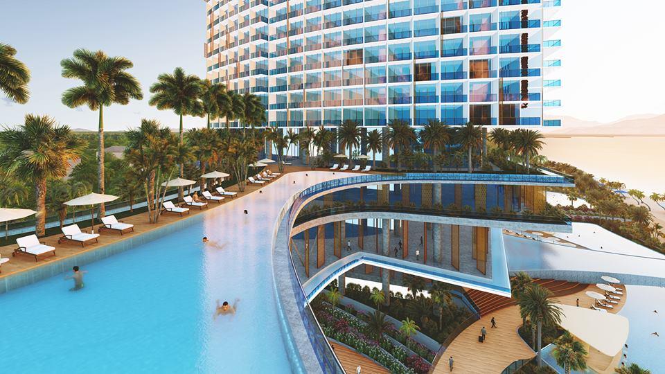 Sunbay Park Ninh Thuận với rất nhiều bể bơi vô cực được tích hợp