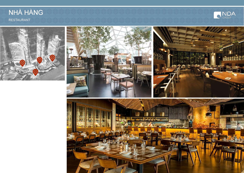 Sunbay Park Tiện ích Phan Rang Ninh Thuận - nhà hàng