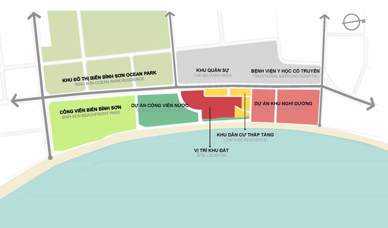 Vị trí dự án Sunbay Park Phan Rang Ninh Thuận