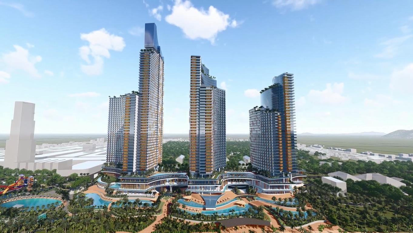 Phối cảnh dự án Sunbay Park Phan Rang - Ninh Thuận