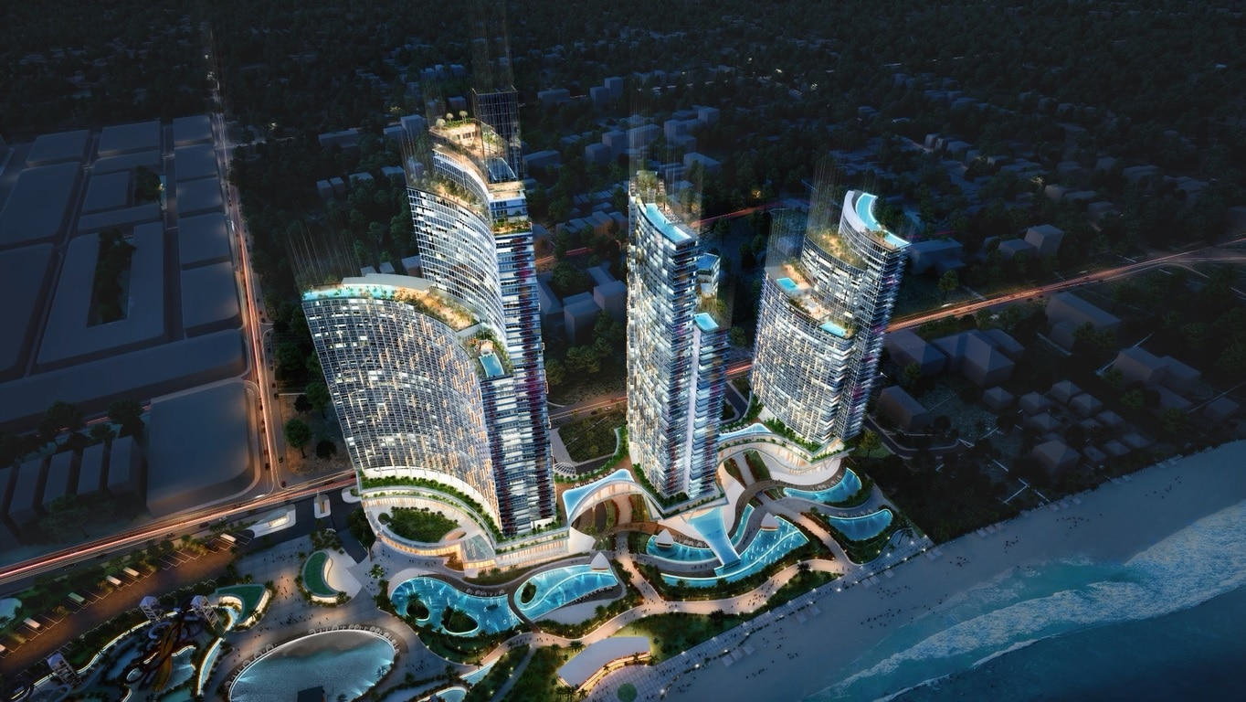 Phối cảnh dự án Sunbay Park Phan Rang Ninh Thuận