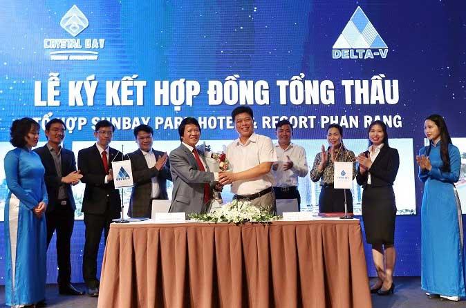 Crystal Bay ký kết hợp đồng hợp tác với Delta Group