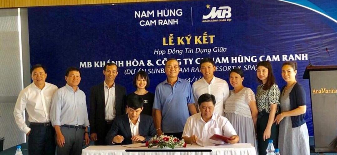 MB Bank ký kết hợp tác với chủ đầu tư Crystal Bay