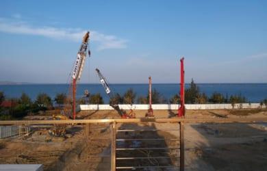 Công tác khoan cọc nhồi dự án Sunbay Park đang được nhà thầu DELTA thi công khẩn trương