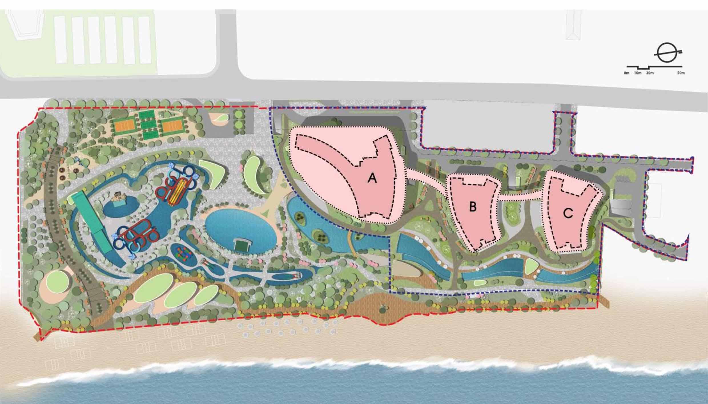 Mặt bằng tổng thể dự án Sunbay Park Ninh Thuận