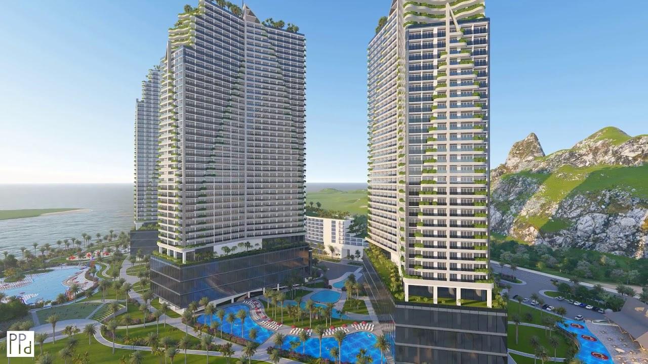 Phối cảnh dự án Ninh Chữ Sailing Bay