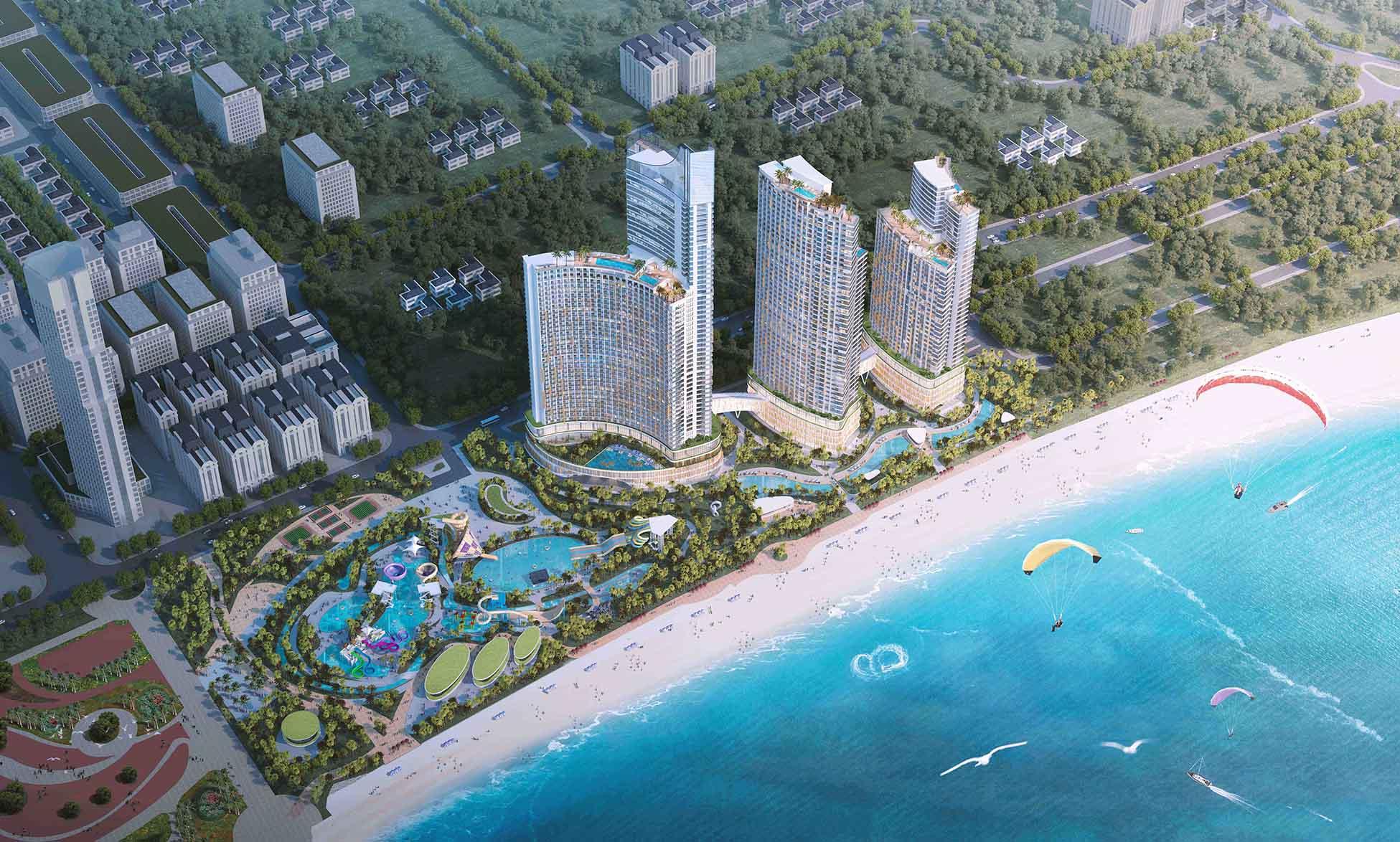 Phối cảnh dự án Sunbay Park Phan Rang