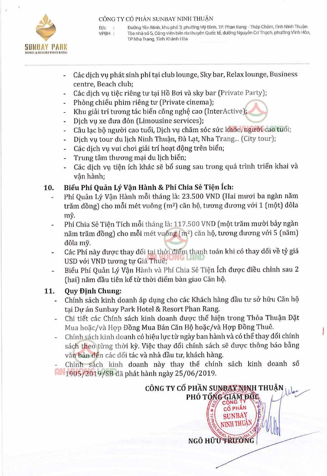 Chính sách bán hàng Sunbay Park Phan Rang Ninh Thuận (9)
