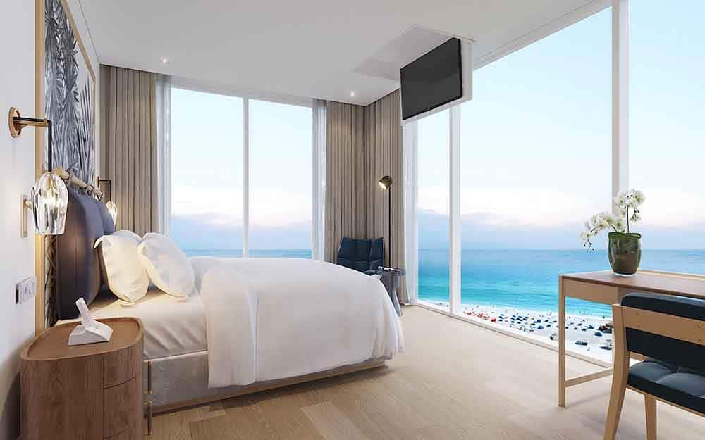 Phối cảnh nội thất căn 2 ngủ Sunbay Park Phan Rang Ninh Thuận