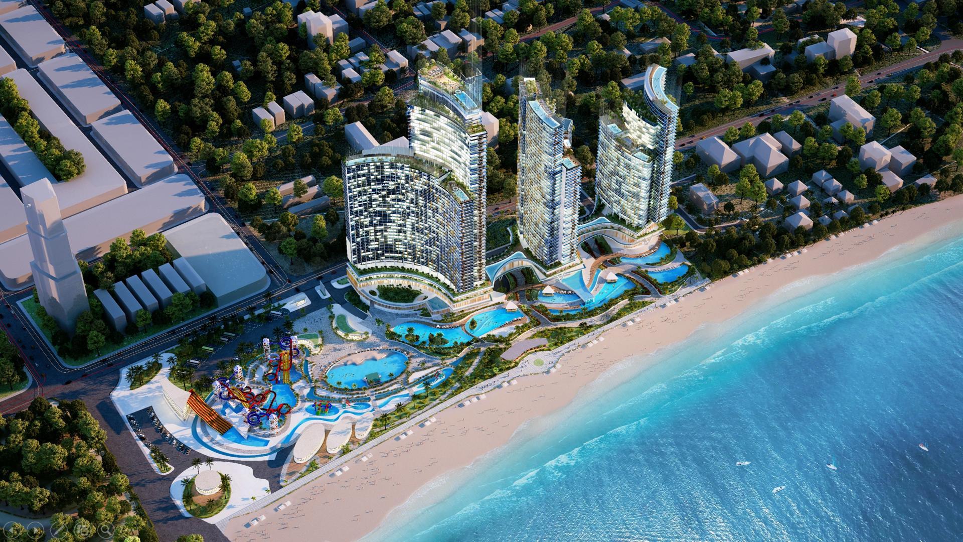 Phối cảnh dự án Sunbay Park Phan Rang Ninh Thuận của tập đoàn Crystal Bay